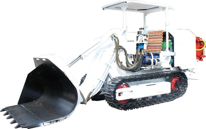 ZMCY45R、ZMCY60R煤矿用全液压侧卸装煤机
