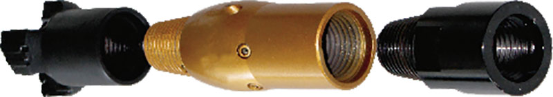 滑阀式水力冲孔器